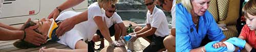 Medical Kits and Training for Yachts