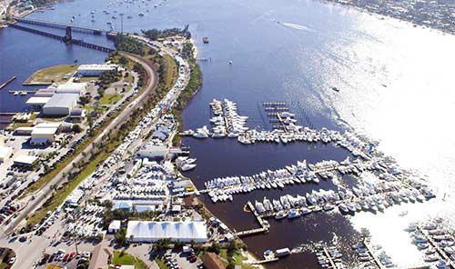 Stuart Boat Show on the Treasure Coast Flordia