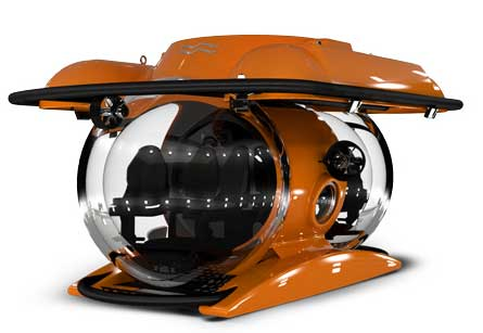 Deep Diving Personal Submarine