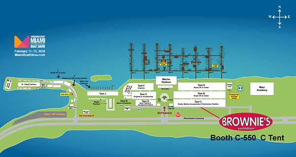 Click for Larger Boat Show Map