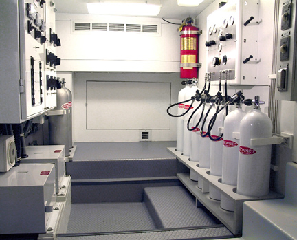 NitroxMaker Installation Dive Room Locker