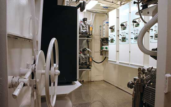 Dive Room with Dual Yacht Pro Compressors